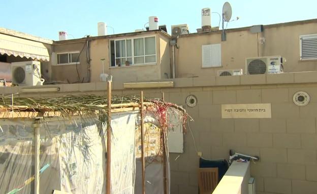 הבית בו שהתה שרה גמליאל  (צילום: החדשות 12)