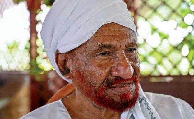 """סאדק אל-מהדי, מנהיג מפלגת """"אל-אומה"""" מתנגד"""