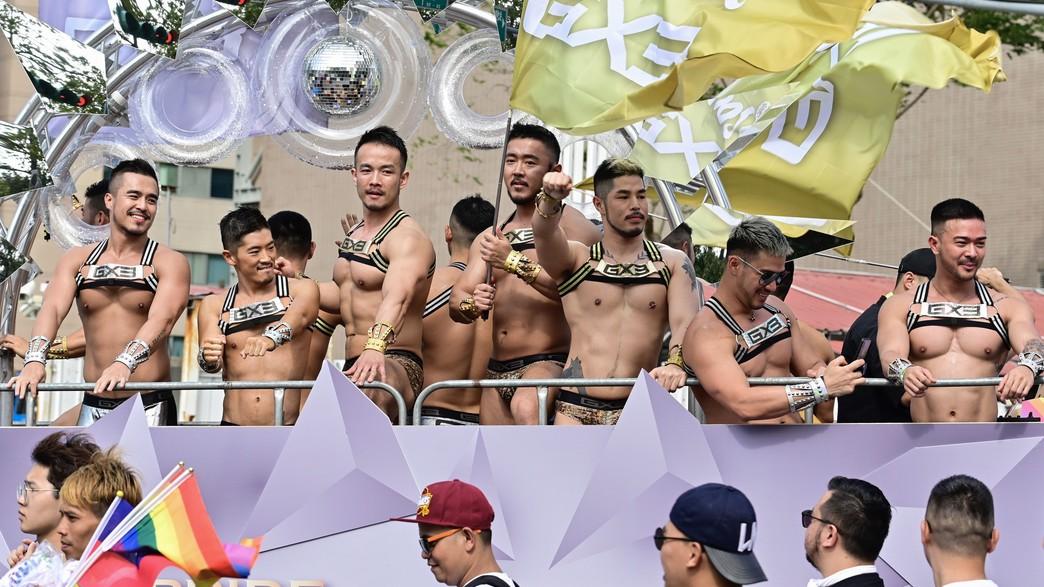 מצעד הגאווה בטאיוואן, 2019 (צילום: SAM YEH/AFP, GettyImages)