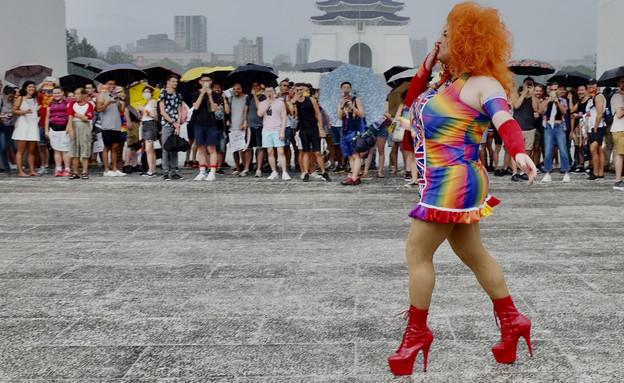 מצעד הגאווה בטאיוואן, יוני 2020 (צילום: SAM YEH/AFP, GettyImages)