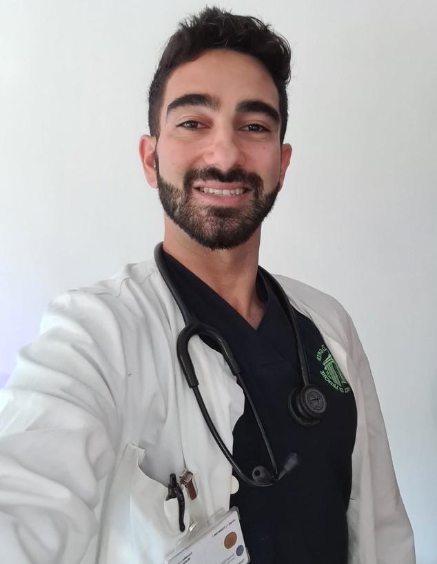 דניאל זייד, סטודנט לרפואה בזאגרב, קרואטיה (צילום: צילום פרטי)