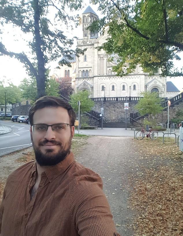 שחר דרור, סטודנט לתואר שני במדעי הסימולציה בגרמניה (צילום: צילום פרטי)
