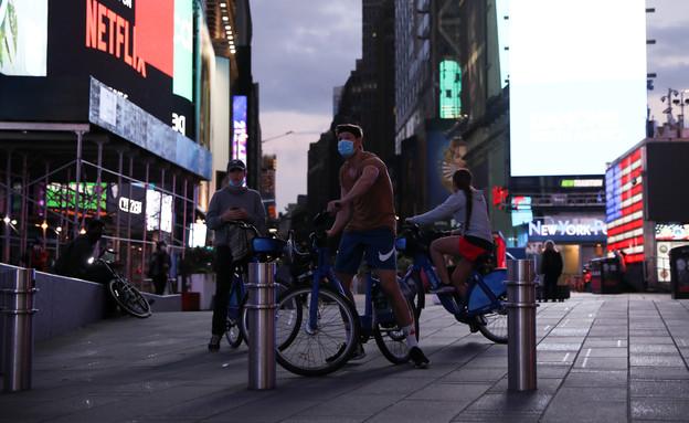 קורונה בניו יורק (צילום: רויטרס)