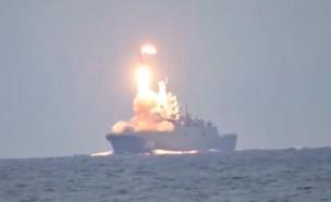 השיגור (צילום: mil.ru, YouTube)