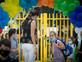 בית ספר קורונה מסכה הורים לימודים (צילום: מרים אלסטר, פלאש 90)