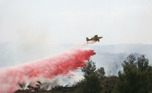 שרפה בכפר האורנים