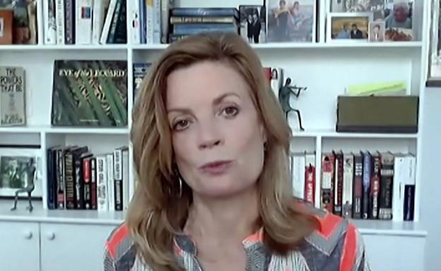 מרי ג'ורדן, עיתונאית (צילום: החדשות 12, חוסין אל אוברה)