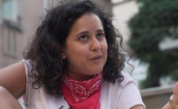 מעיין אמרן, פעילת קומי ישראל (צילום: החדשות 12, חוסין אל אוברה)