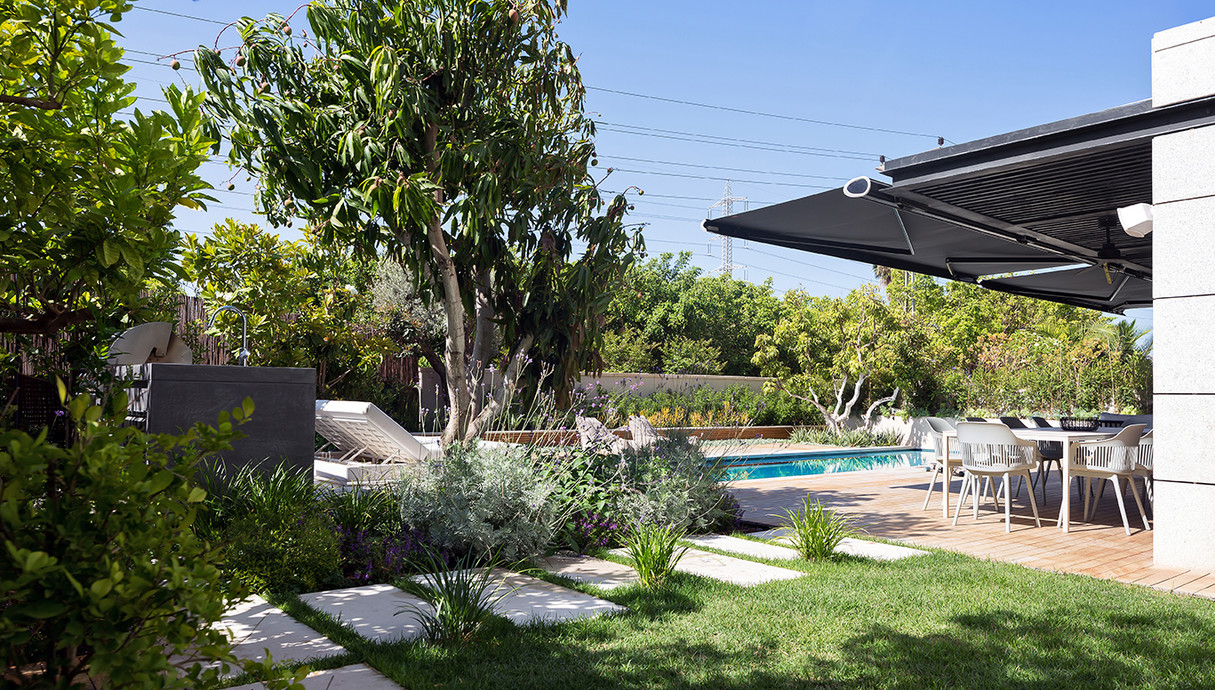 דירת גן בתל אביב, עיצוב ענת לזר - 2
