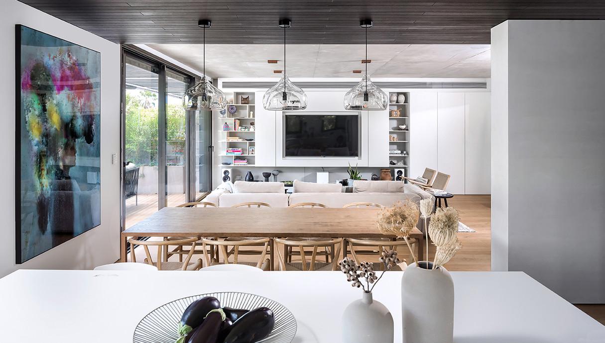 דירת גן בתל אביב, עיצוב ענת לזר - 11