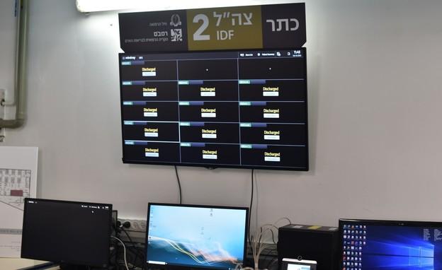 """לראשונה צה""""ל יטפל באזרחים בתוך שטח ישראל (צילום: דובר צה""""ל )"""