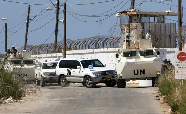 """בסיס האו""""ם בא-נאקורה, לבנון (צילום: רויטרס, שי פרנקו,רויטרס)"""