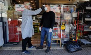 קורונה בחברה הערבית בישראל: דיר אל אסד (צילום: באסל עווידאת, פלאש 90)