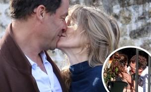 דומיניק ווסט ואשתו (צילום: MIKE / SplashNews.com, instagram)