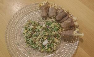 גלילות סינטה (צילום: מתוך אמהות מבשלות ביחד, ערוץ 24 החדש)