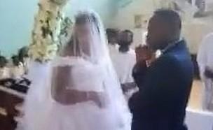 חתונה בהפרעה (צילום: Zambian Portal, Youtube)