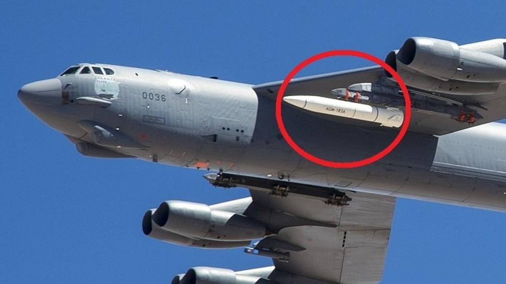הטיל מדגם A (צילום: Christopher Okula/USAF)