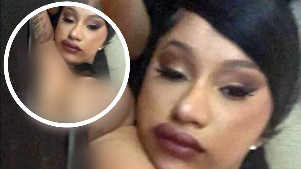 קארדי בי פרסמה תמונת עירום (צילום: צילום מסך מתוך האינסטגרם של קארדי בי, instagram)