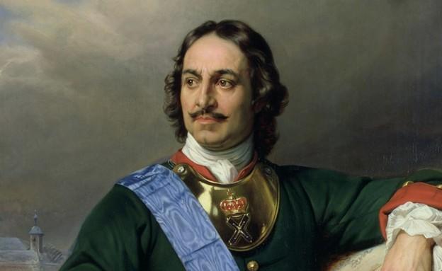 פיוטר הגדול, ציור פול דלרוש (צילום: ויקיפדיה)
