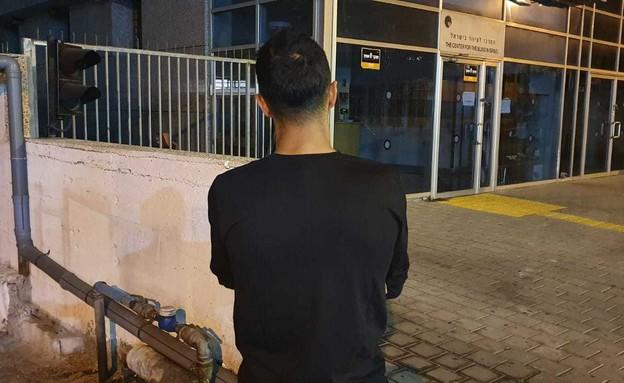 ז', המוכר שנטרל את החשוד במהלך ניסיון שוד בתל אביב