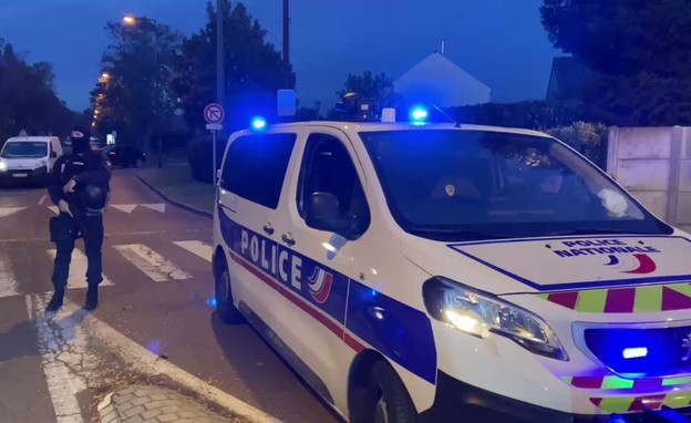 זירת האירוע בצרפת (צילום: ClementLanot, טוויטר)