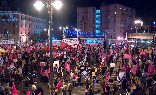 הפגנות בבלפור