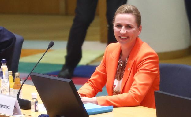 ראש ממשלת דנמרק מטה פרדריקסן  (צילום: ap)