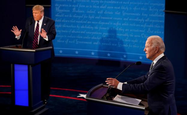"""ג'ו ביידן ודונלד טראמפ, בחירות ארה""""ב (צילום: רויטרס)"""