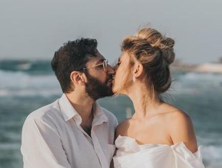 בשעה טובה: אלינה לוי ודור פרי נישאו