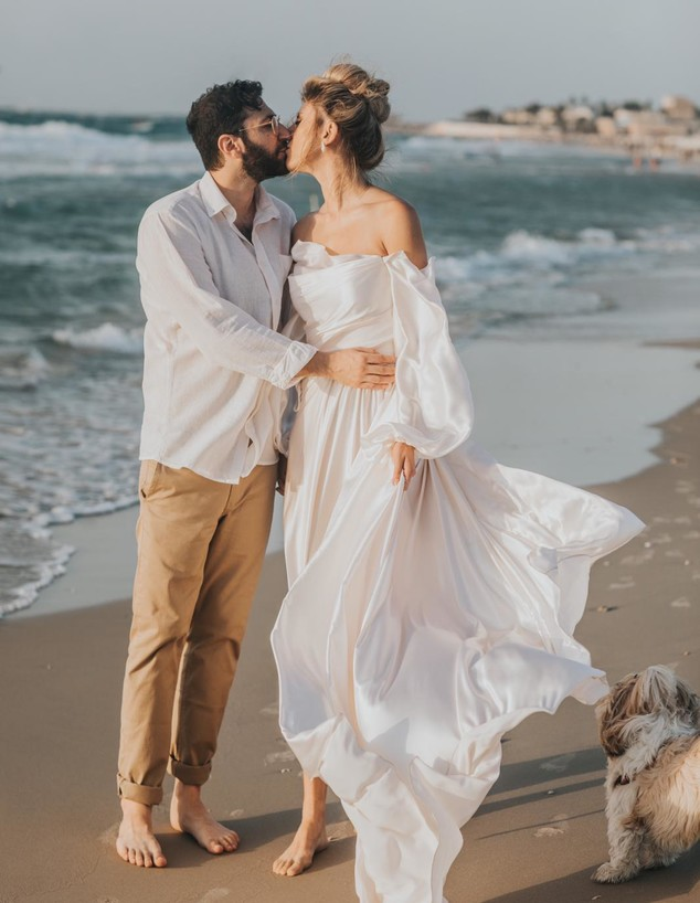אלינה לוי מתחתנת (צילום: עידן חסון)