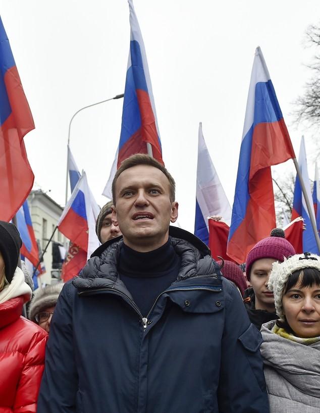 אלכסיי נבלני (צילום: AP PhotoDmitry Serebryakov)