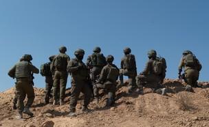 """איתור וחשיפת מנהרת טרור בדרום רצועת עזה (צילום: דובר צה""""ל)"""
