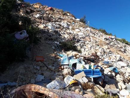 תיעוד מרתיח: הפכו את שביל הטיול למזבלה מקומית