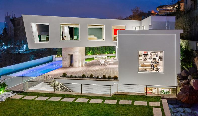 עיצוב חרירי את חרירי אדריכלים - 5 (צילום: Moein Hossein LAVASAN LIVINGROOM)