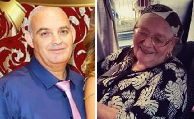 שמחה ושמואל ממן - אם ובנה שנפטרו מקורונה (צילום: באדיבות המשפחה)