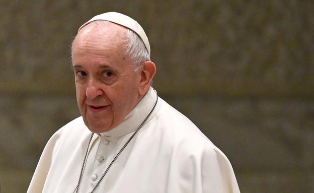 האפיפיור פרנציסקוס (צילום: ALBERTO PIZZOLI/AFP, GettyImages)