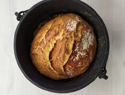 לחם בסיר (צילום: מירב גביש, גבישס, בלוג אוכל)