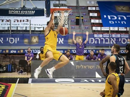 ניצחון שני בליגה הבלקנית (צילום: רז גליל, מנהלת ליגת הכדורסל) (צילום: ספורט 5)