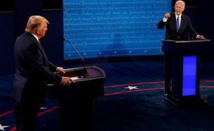 ראש בראש: ביידן וטראמפ (צילום: רויטרס)