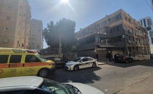 """ניידת משטרה בנתניה (ארכיון) (צילום: דוברות מד""""א )"""