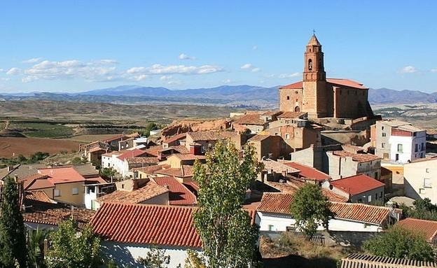 הכפר Olvés (צילום: Jaime Calatayud)