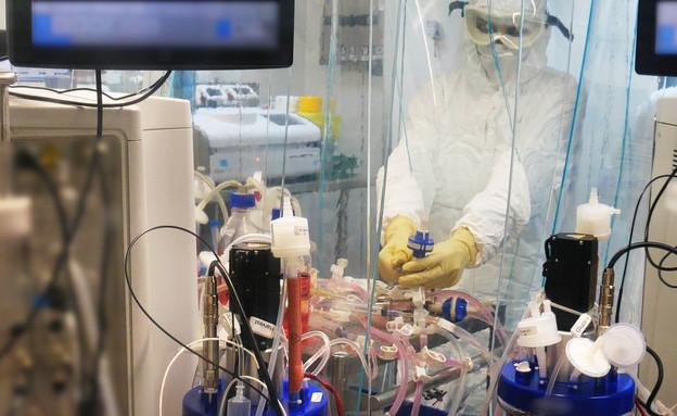 החיסון של המכון הביולוגי (צילום: משרד הביטחון והמכון למחקר ביולוגי)