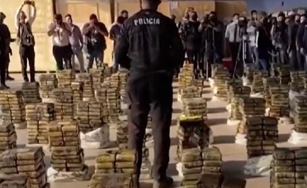 הברחת קוקאין (צילום: צילום מסך מתוך ערוץ היוטיוב CGTN America )