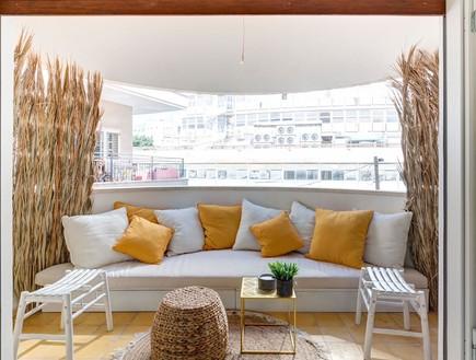 דירה בתל אביב, עיצוב סטפן מריונט ואילן פרץ (צילום: עידן סעידי)