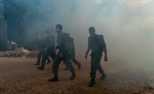 """אתר האימונים הייחודי של צה""""ל לתרגול לחימה בחיזבאללה (צילום: דובר צה""""ל)"""