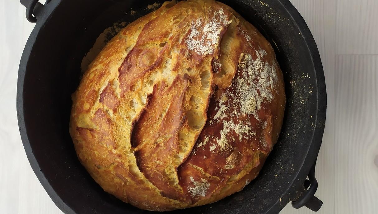לחם בסיר