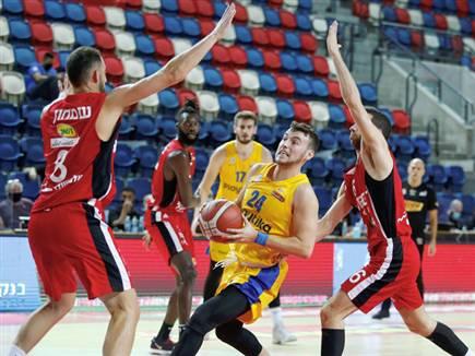 אלבר, דקות ראשונות בצהוב (אלן שיבר) (צילום: ספורט 5)