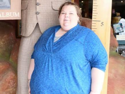 """""""הייתי אוכלת כשאני עצובה והייתי אוכלת כשהייתי שמחה"""": המהפך הבלתי נתפס של אנדריאה"""