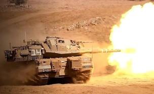 טנקים בפעולה (צילום: חיל השריון)