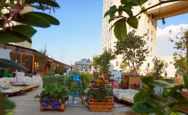 שדרוג גגות, מוסללה (צילום: מתן ישראלי)